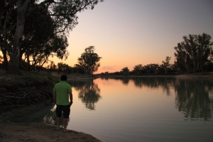 Dawn at Minkie Waterhole