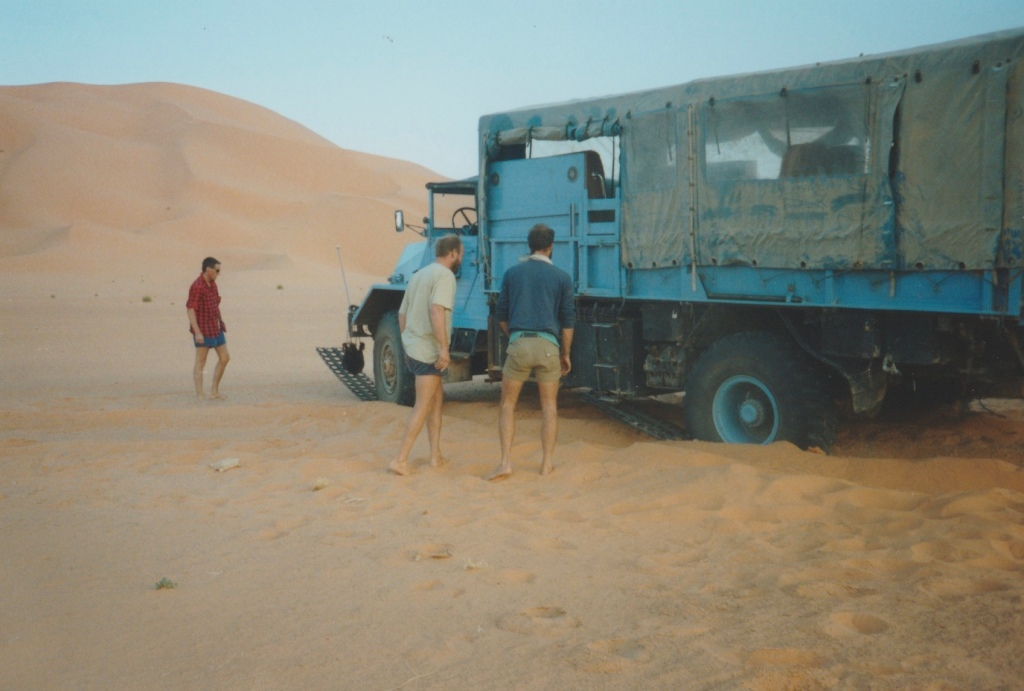 Hands-on Adventures. Sand-matting in the Sahara.